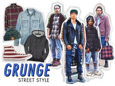 Grunge Street Style Trend | Men's Fashion and Style | ASOS Fashion Finder