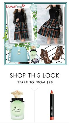 """""""Sammydress 50"""" by car69 ❤ liked on Polyvore featuring Dolce&Gabbana, Bobbi Brown Cosmetics, Maybelline and sammydress"""