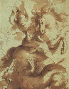 Baroque - St. George Slaying the Dragon - Peter Paul Rubens