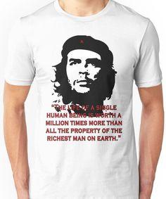 Che Guevara Quote Unisex T-Shirt