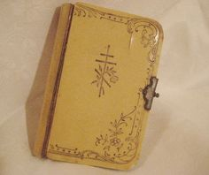 Antique 1906 Russian Orthodox Psalms or Prayer Book by StarPower99, $35.00