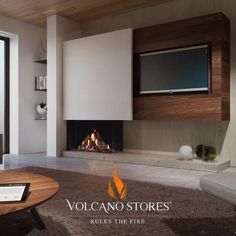 gorgeous living room furniture design very effective to living room remodel Living Room Decor Fireplace, Home Fireplace, Fireplace Design, Gas Fireplaces, Modern Fireplaces, Modern Interior Design, Interior Design Living Room, Modern Interiors, Living Room Remodel