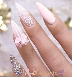 Latest Nail Art Ideas Gallery for different types of nails like, long nails, short . Dope Nails, Bling Nails, Stiletto Nails, 3d Nails, Fabulous Nails, Gorgeous Nails, Pretty Nails, Red Nail Designs, Beautiful Nail Designs