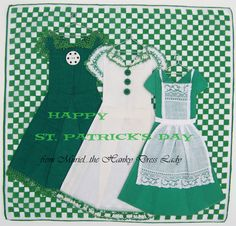 The Hanky Dress Lady: Happy St. Patrick's Day
