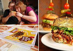 PEI Burger Love Festival - 92,000 Burgers sold! #eastcoast #hamburgers Food Articles, Hamburgers, Nom Nom, Chicken, Ethnic Recipes, Burgers, Hamburger, Cubs