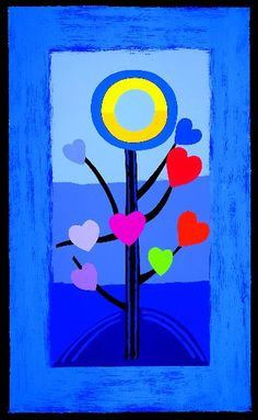 Sir Terry Frost - Blue Love Tree - simple but powerful