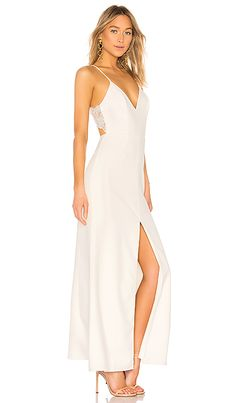 13a4af6b9f9b Lovers + Friends Helena Gown in Ivory | REVOLVE Fashion Wear, Fashion  Dresses, Womens