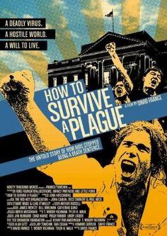 How to survive a plague film poster www.savinglivesuk.com