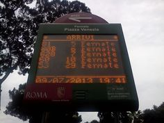 """Il Trenino Roma Lido: #Atac: la palina dello sconforto: """"il tuo bus è a 29 fermate""""#Atac: la palina dello sconforto: """"il tuo bus è a 29 fermate"""" #Atac, Scempi da Trasporto pubblico - Un piccolo approfontimento di Sebastiano sull'emozione di vedersi un autobus a 29 fermate - Un blog gustoso sia per i contenuti Atac che non (TreninoPromotion)"""