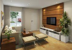 tv room / sala tv Living Room Tv, Home And Living, Tv Wanddekor, Tv Wall Decor, Inspired Homes, Decor Interior Design, Living Room Designs, Home Furniture, Sweet Home