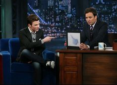 Chris on the Late Night Show with Jimmy Fallon July 2012