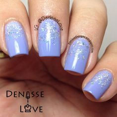 Transform your manicure with a #glittergradient accent. Discover Denisse O's must-haves by clicking through.