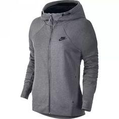 Nike Tech Fleece FZ Hoodie, grå