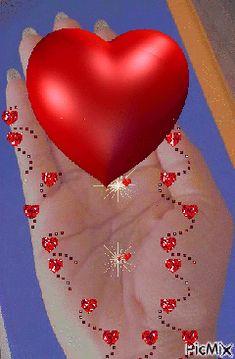 Beautiful Love Pictures, Beautiful Gif, Love Images, Beautiful Flowers, Beautiful Hearts, Animated Heart, Animated Gif, Heart Wallpaper, Love Wallpaper