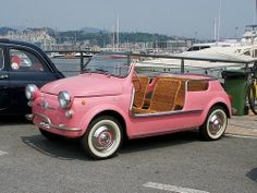 Fiat Jolly. The perfect car to buzz around a beach town.