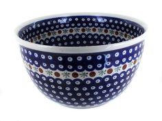 Polish pottery nature large mixing bowl #mixingbowls