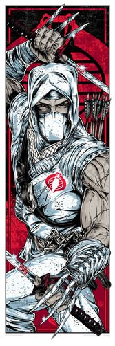 'Storm Shadow' by Rhys Cooper for AcidFree Gallery's 'G.I. Joe' print series - http://trampt.com/s/2268