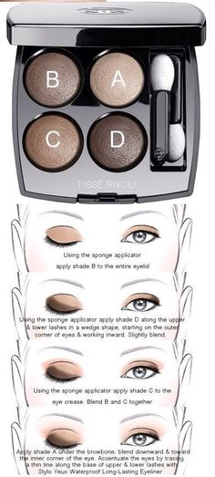 Makeup Products Chanel Eye Shadows Ideas - - Makeup Products Chanel Eye Shadows Ideas Make up Makeup Products Chanel Eye Shadows Ideas Eye Makeup Steps, Smokey Eye Makeup, Skin Makeup, Chanel Eyeshadow, Makeup 101, Makeup Brushes, Beauty Makeup, Beauty Tips, Chanel Makeup Looks