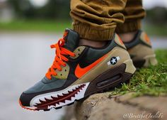 Nike Air Max cuztomised by Juampi*   Supernatural Style   Supernatural Style