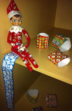 Adding some of our Elf's antics in the hope they can help others xx