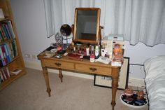 Vanity, Mirror, Room, Furniture, Home Decor, Dressing Tables, Bedroom, Powder Room, Decoration Home