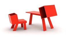 BooBoo Desk and Chair via ahalife