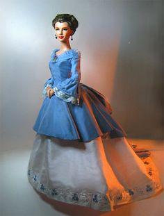 """soultalk777- A Scarlett Reverie: """"Hustle and Bustle"""": Doll Fashions by Alana Bennett/Tonner Scarlett OOAK"""