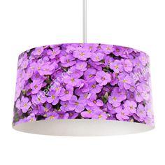 Lampenkap Paarse bloemen   Bestel lampenkappen voorzien van digitale print op hoogwaardige kunststof vandaag nog bij YouPri. Verkrijgbaar in verschillende maten en geschikt voor diverse ruimtes. Te bestellen met een eigen afbeelding of een print uit onze collectie.  #lampenkap #lampenkappen #lamp #interieur #interieurdesign #woonruimte #slaapkamer #maken #pimpen #diy #modern #bekleden #design #foto #bloemen #bloem #paars #natuur