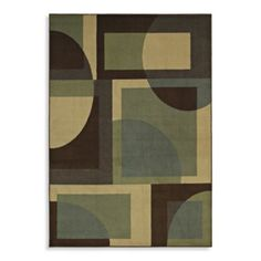 Shaw Transitions Collection Lola Rectangle Rugs in Espresso - BedBathandBeyond.com