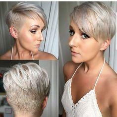 Kort blond haar verveeld echt nooit! Bekijk hier 10 vet coole korte kapsels in blonde kleuren! - Pagina 8 van 10 - Kapsels voor haar