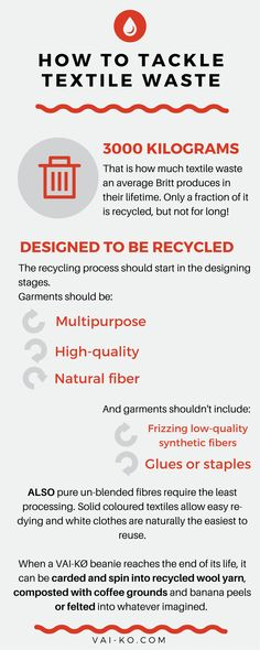 How to reduce textile waste. Tips on sustainable eco-friendly living. Ecological and ethical clothing ideas. Recycling Process, Living Quotes, Reduce Waste, Ethical Clothing, Sustainable Clothing, Simple Living, Natural Materials, Clothing Ideas, Quotes To Live By
