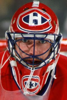 Patrick Roy Goalie Gear, Goalie Mask, Hockey Goalie, Hockey Players, Montreal Canadiens, Mtl Canadiens, Ice Hockey Teams, Hockey Stuff, Quebec