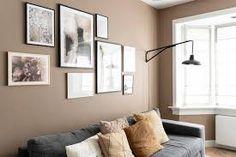bakery brown - Google Zoeken Living Room Decor Colors, Living Room Accents, Room Colors, Brown Living Room Paint, Home Living Room, Brown Wall Decor, Brown Walls, Bedroom Color Schemes, Paint Colors For Home