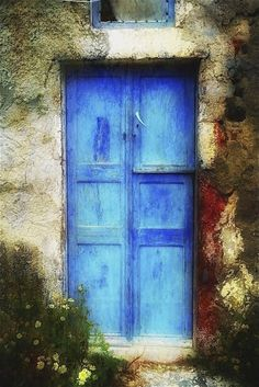 Painted Door by Catherine Larrick