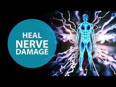 Heal Nerve Damage: Cell Regeneration Binaural Beats - Miracle Nerve Regeneration - YouTube Breathing Meditation, Healing Meditation, Meditation Practices, Meditation Music, Guided Meditation, Reiki Music, Beginner Full Body Workout, Affirmations, Healing Codes