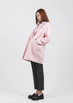 LOOKAST CHAPTER #6 - Soft pink oversized   coat