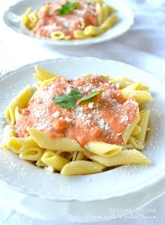 Penne with Vodka Sauce - Mother Thyme