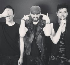 Danny,Mark, and Glenn The Script Band, Music Is Life, My Music, Journey Music, Irish Rock, Danny O'donoghue, We The Kings, Mayday Parade, Blood Sweat And Tears