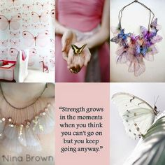Be strong even if you think you can't. Beautiful Collage, Beautiful Words, Rose Hill Designs, Pot Pourri, Mood Colors, Women Of Faith, Colour Board, Outdoor Art, Animal Quotes