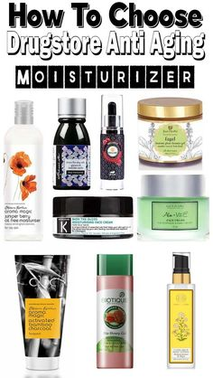 How To Choose Best Anti Aging Moisturizer For Black Skin Moisturizer For Oily Skin, Anti Aging Moisturizer, Tinted Moisturizer, Best Anti Aging, Anti Aging Cream, Anti Aging Skin Care, Skin Firming, Beauty Products, Tutorials