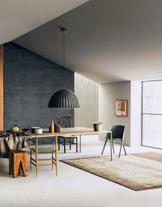 one dark wall ... 50 Shades of Grey: The New Neutral Foundation for Interiors