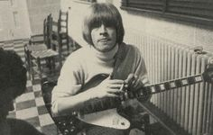 "rolloroberson:""Brian Jones the founding member of The Rolling Stones with his Gibson Firebird guitar. The Rolling Stones, Brian Jones Rolling Stones, Gibson Firebird, Rollin Stones, 60s Music, Janis Joplin, Keith Richards, Album Songs, Mick Jagger"