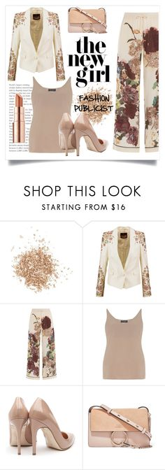 """""""ME IN THE FUTURE: FASHION PUBLICIST"""" by taliafzl ❤ liked on Polyvore featuring Topshop, Roberto Cavalli, Valentino, Dorothy Perkins, Rupert Sanderson, Chloé and Estée Lauder"""