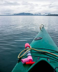 """""""Remember in the vast infinity of life all is perfect whole and complete... and so are you."""" - Louise L. Hay  _  Sea kayaking in Glacier Bay National Park in Alaska.  _  Paddling in this vast clear body of water stretches one's mind to embrace one's place in nature. We are all one.  _  #juneau  #alaskalife  @traveljuneauak"""