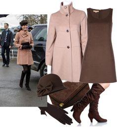 """Pregnancy: Dress like Kate Middleton"" // by evismpl ❤ on Polyvore"