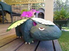 Picture of Make a Venusaur Planter Pot!