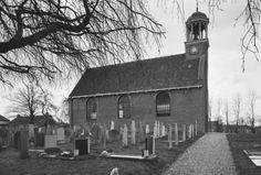Nederlands Hervormde kerk in St.Nicolaasga Cabin, Snow, House Styles, Winter, Outdoor, Home Decor, Winter Time, Outdoors, Cabins
