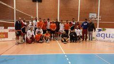 Trabajada victoria del Hotel Río Badajoz en el derbi Extremeño de voleibol disputado este fin de semana.
