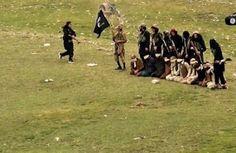 Estado Islâmico obriga prisioneiros a se ajoelharem sobre bombas e as detona