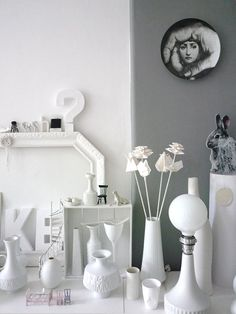Love all the white and miniatures mixed in with life-sized items